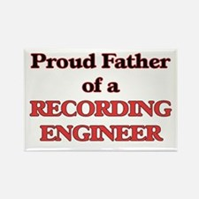 Proud Father of a Recording Engineer Magnets