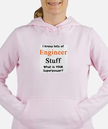 engineer stuf Women's Hooded Sweatshirt