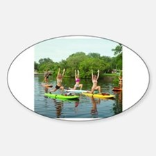 Funny Yoga sutras Decal