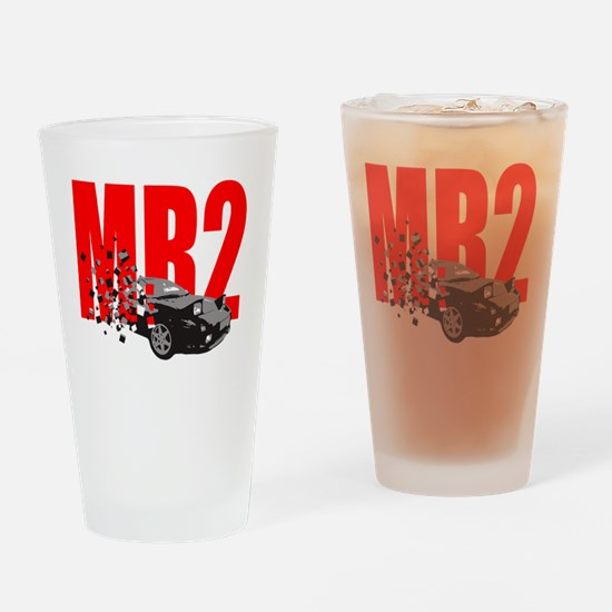 Cute Motoring Drinking Glass