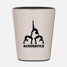 Acrobatics Shot Glass