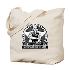 Big Government Facts Tote Bag