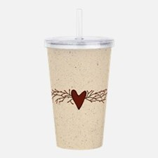 Pip Berry Heart Swag Acrylic Double-wall Tumbler