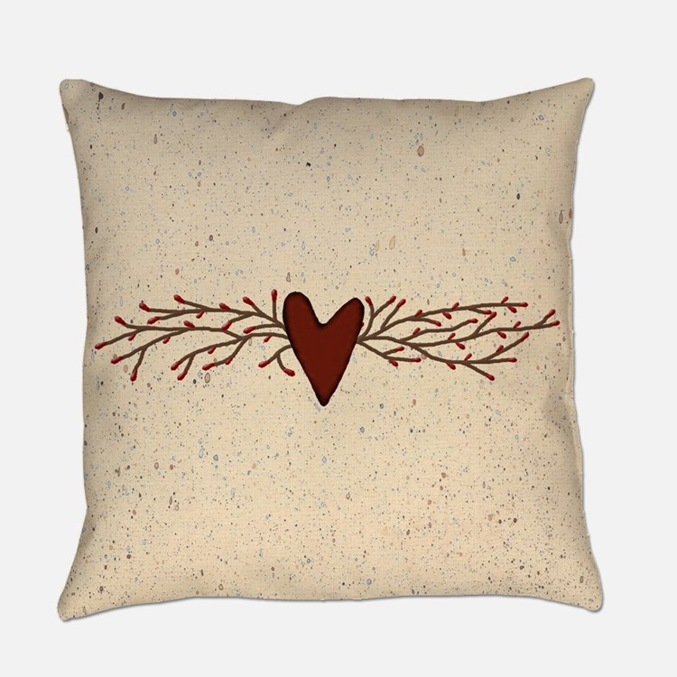 Country Primitive Pillows, Country Primitive Throw Pillows & Decorative Couch Pillows