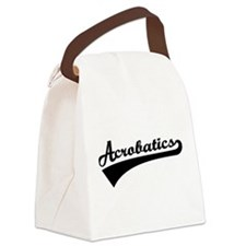 Acrobatics Canvas Lunch Bag