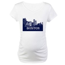 Boston From Fort Point Channel Shirt