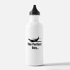 Airplane Design Water Bottle
