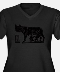 Romulus and Remus Plus Size T-Shirt
