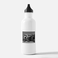 Vintage cameras photog Water Bottle