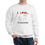 I Love Unicorns Sweatshirt