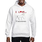 I Love Unicorns Hooded Sweatshirt