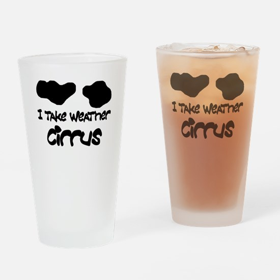 Cool Cloud Drinking Glass