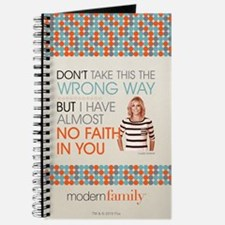 Modern Family Claire No Faith Journal