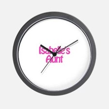 Isabelle's Aunt Wall Clock