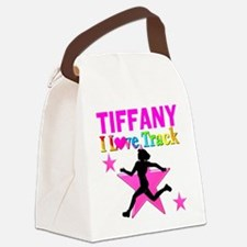 I LOVE RUNNING Canvas Lunch Bag