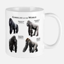 Gorillas of the World Small Small Mug