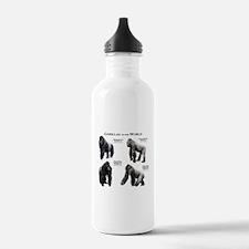 Gorillas of the World Water Bottle