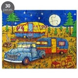 Vintage camper Puzzles