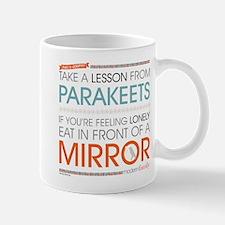 Modern Family Philsosophy Parakeets Mug