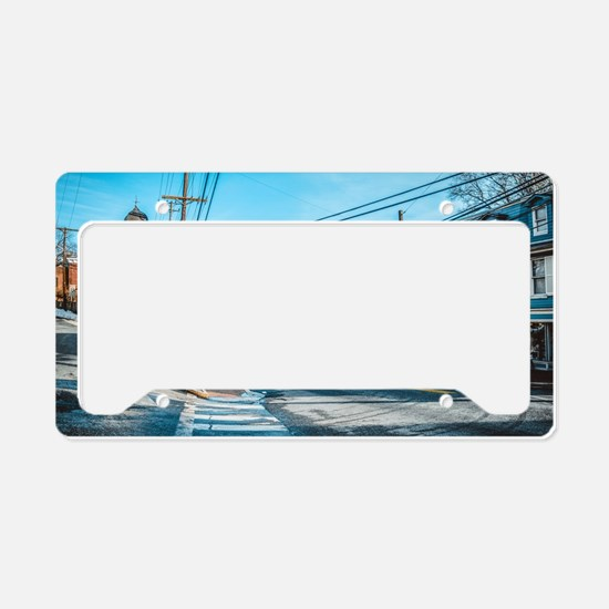 Cute Cities License Plate Holder