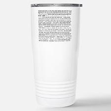 Cute Poetry Travel Mug