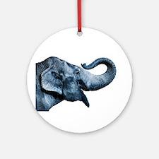 ELEPHANT Round Ornament