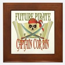 Future Pirates Framed Tile