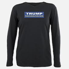 Unique Political Plus Size Long Sleeve Tee