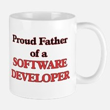 Proud Father of a Software Developer Mugs