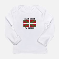 Cute Basque Long Sleeve Infant T-Shirt