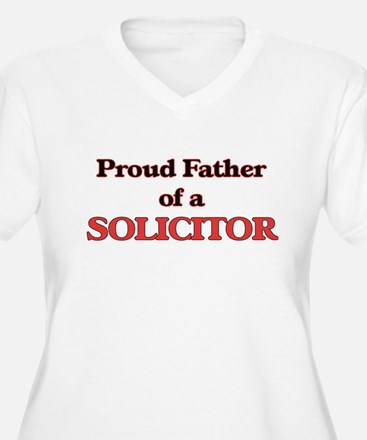 Proud Father of a Solicitor Plus Size T-Shirt