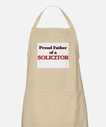 Proud Father of a Solicitor Apron
