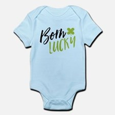 St. Patrick's Day Born Lucky Body Suit
