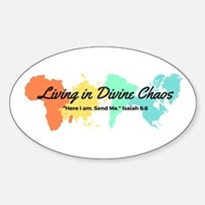Living In Divine Chaos Decal