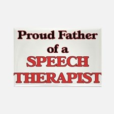 Proud Father of a Speech Therapist Magnets