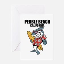 Pebble Beach, California Greeting Cards