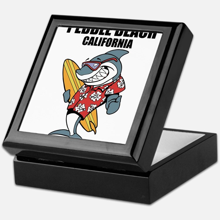 Pebble Beach, California Keepsake Box