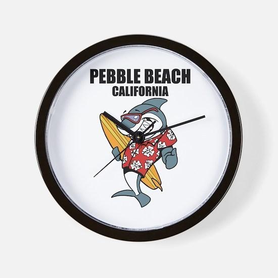 Pebble Beach, California Wall Clock