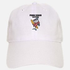 Pebble Beach, California Baseball Baseball Baseball Cap