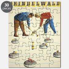 Cute Sports curling Puzzle