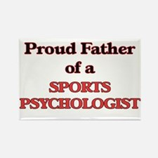 Proud Father of a Sports Psychologist Magnets