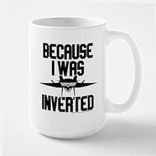 Top Gun - Inverted Large Mug