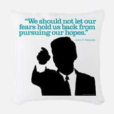 Hopes Woven Throw Pillow