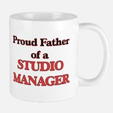 Proud Father of a Studio Manager Mugs