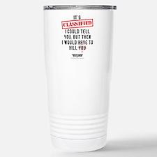 Top Gun - Classified Stainless Steel Travel Mug