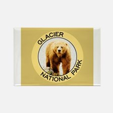 Cute Glacier national park Rectangle Magnet