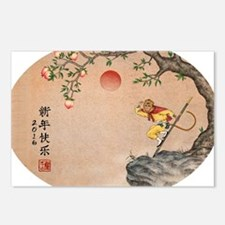 Unique Lunar new year Postcards (Package of 8)