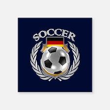 Germany Soccer Fan Sticker