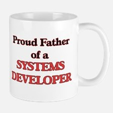Proud Father of a Systems Developer Mugs
