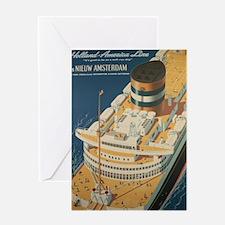Unique Ocean liner Greeting Card